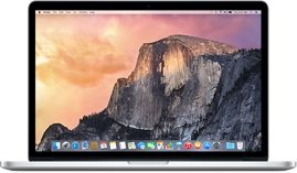 "MacBook Pro with Retina display - 13"" (2.7 GHz or 2.9 GHz Intel i5), or 15"" (2.2 GHz or 2.5 GHz Intel i7) with Turbo Boost. 8 or 16 GB of 1866MHz LPDDR3 onboard memory. MagSafe 2 power port, Two Thunderbolt 2 ports, Two USB 3 ports, HDMI port, SDXC card slot & with new Force Touch trackpad (13"" only)."