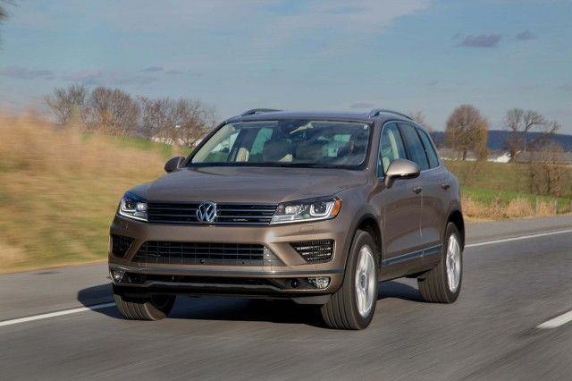 2017 Volkswagen Touareg (VW) Review, Ratings, Specs, Prices, and Photos - The…