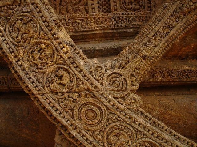 Image result for konark sun temple chariot wheel