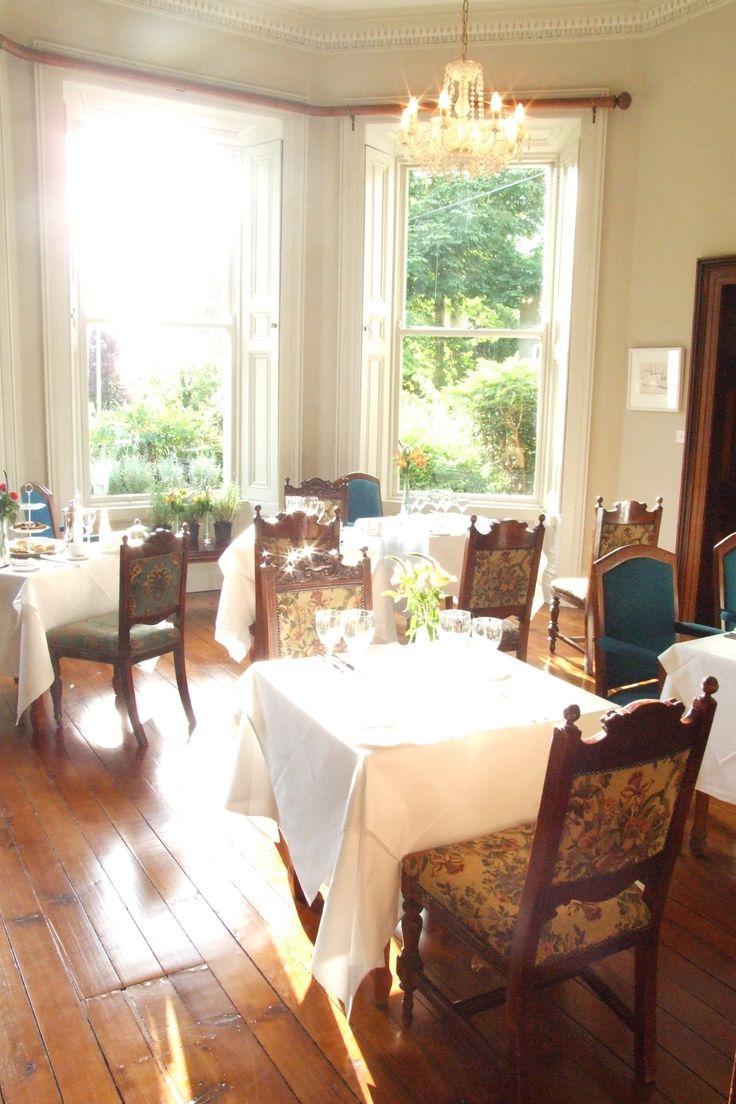 Tea Room overlooking the garden