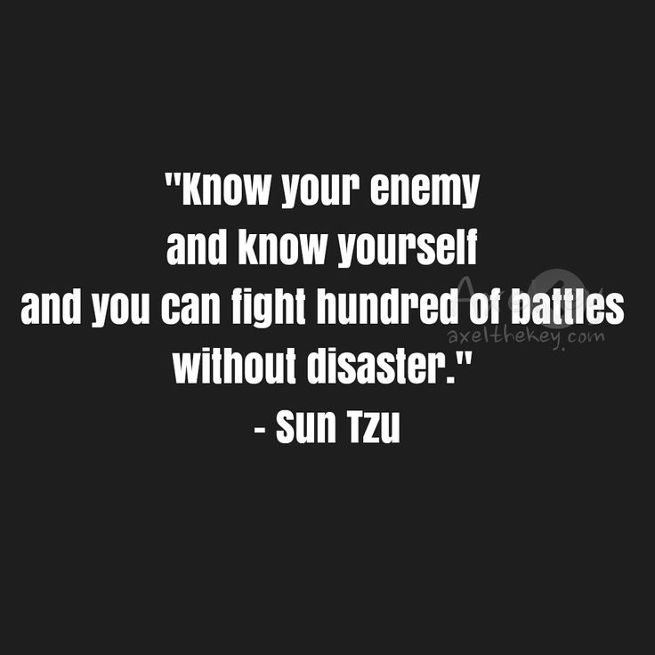 Best Sun Tzu Quotes: 25+ Best Know Yourself Quotes On Pinterest