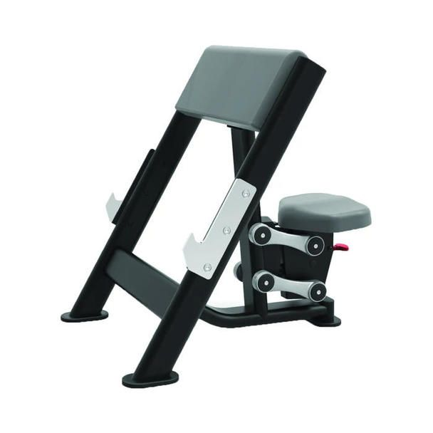 Tko Commercial Seated Preacher Curl Bench Weight Benches At Home Gym Stainless Steel Bar