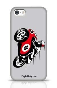 Racing Motorbike Apple iPhone 5S Phone Case