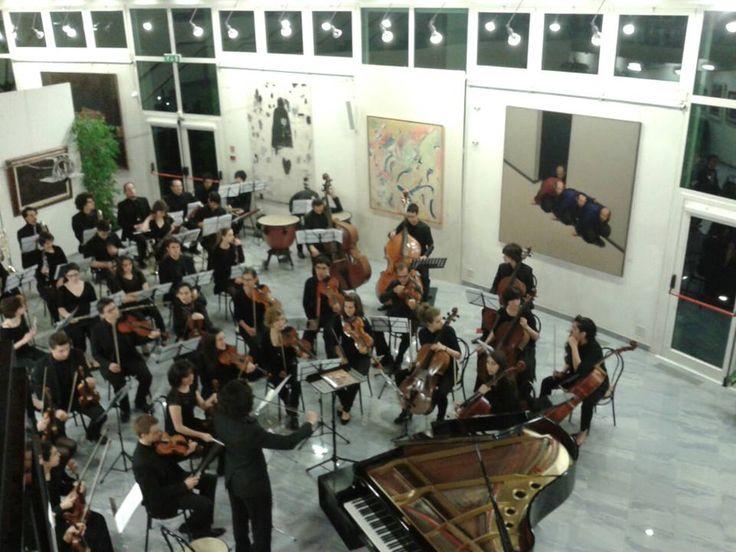 Concerto a Ca' la Ghironda ModerArtMuseum (Bologna) #FraArteNatura