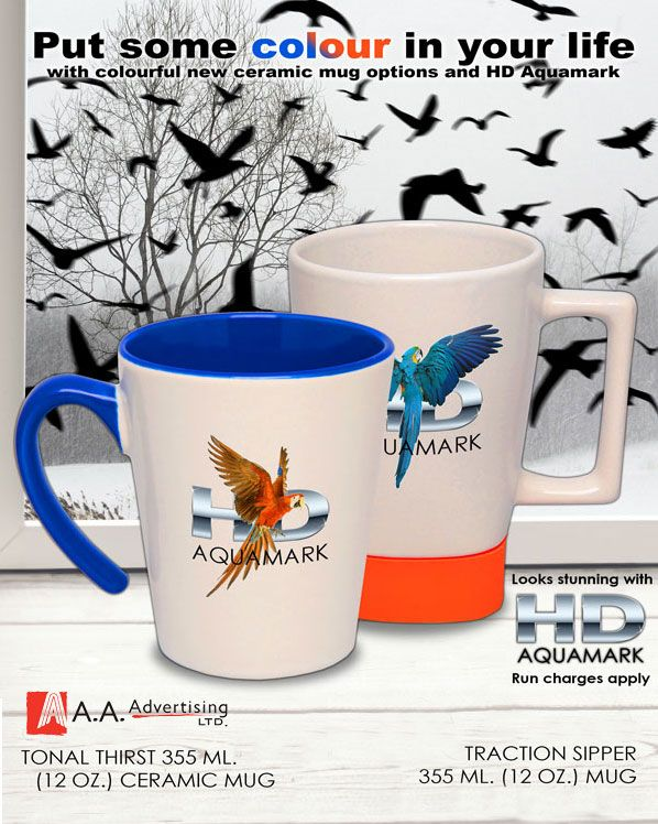 Can you get full color logos and graphics on your mugs? Yes you can!