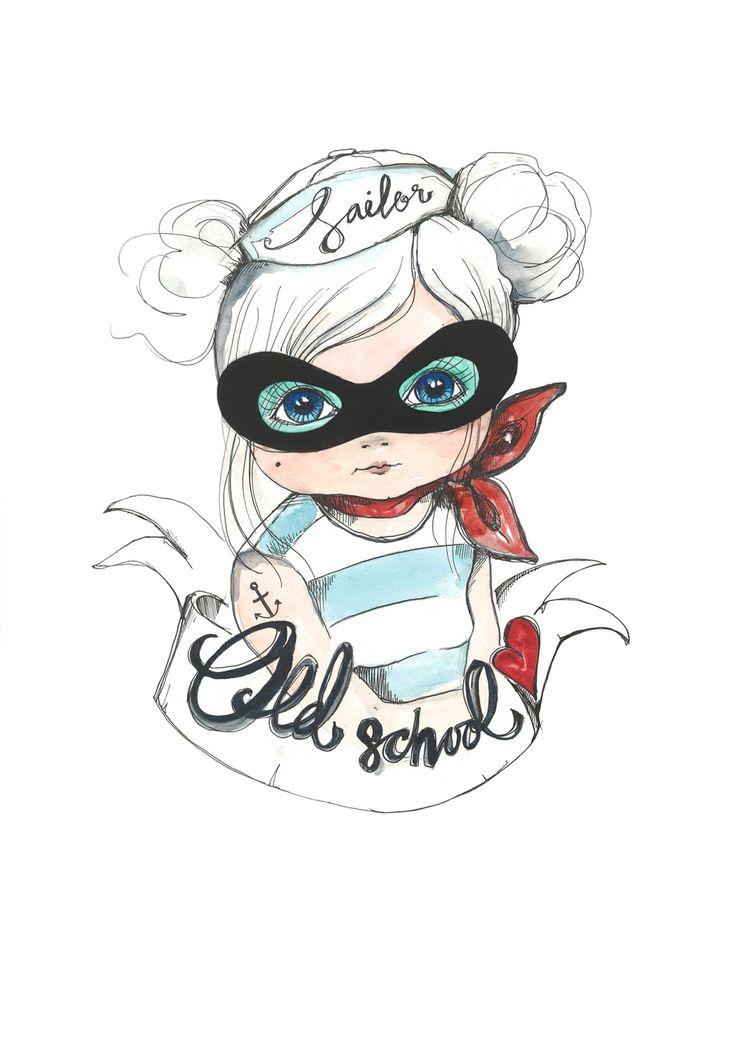 BANDIT SAILOR GIRL via KOLLIJOX. Click on the image to see more!