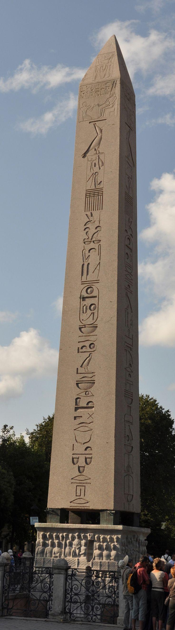 Obelisk of Theodosius | Egiptian Obelisk | Istambul | Turkey -Photo: Stunning Expressions
