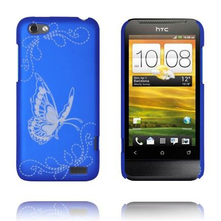 Joy (Blå) HTC One V Cover