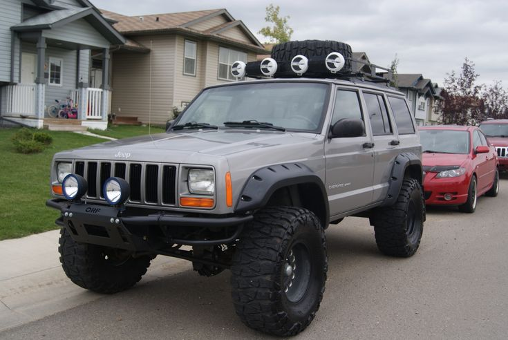2000 jeep cherokee mud mod - Google Search