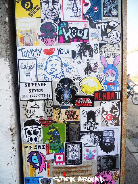 Stickers · sticker street artsticker