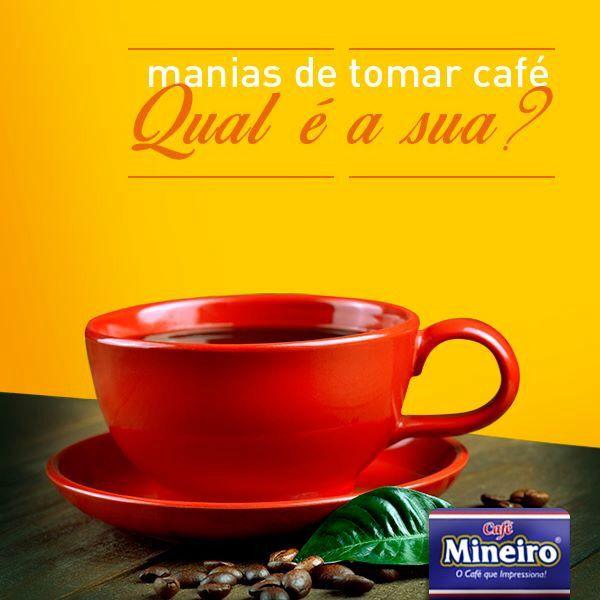 Campanha institucional desenvolvida para a marca Café Mineiro!