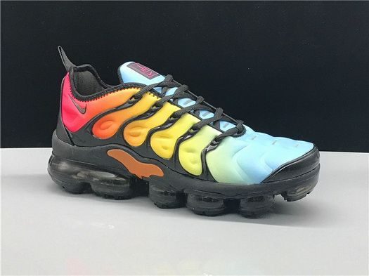 9ff5db741ee Spring Summer 2018 Fashion Nike Air Vapormax Plus Rainbow Colorful Shoe