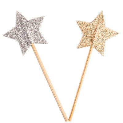 Baguette étoile N°74 glitter - My Little Bazar décoration pour chambre enfant