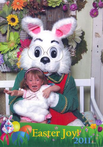 Easter photo! Sweet bunny!!