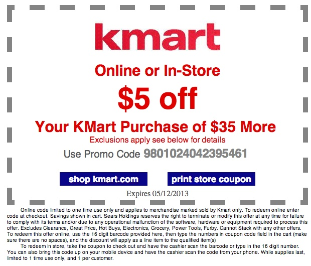 Kmart coupons printable 10 off 20