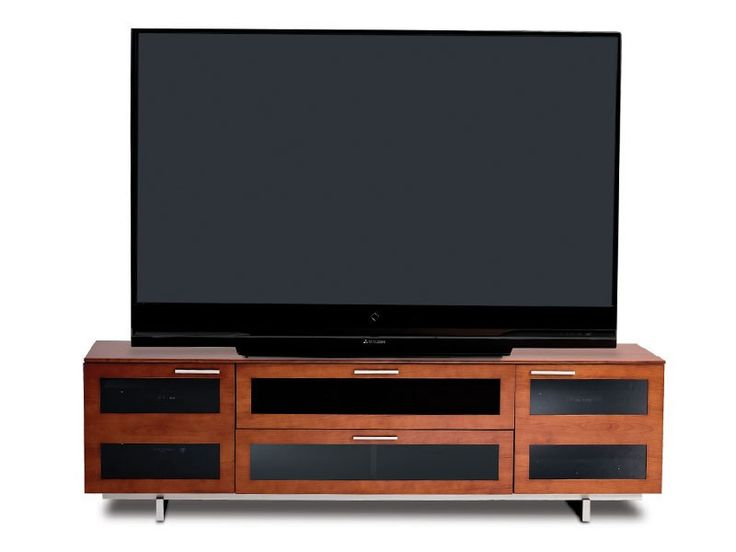 BDI Avion Series II 8929 Natural Stained Cherry Wooden TV Stand And Media  Cabinet