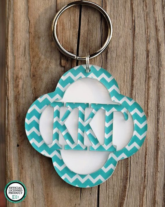 Big Little Sorority Gift Greek Keychain by SassySouthernGals
