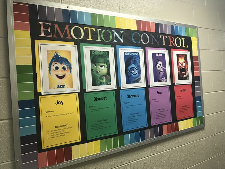 Emotion Control Center Bulletin Board