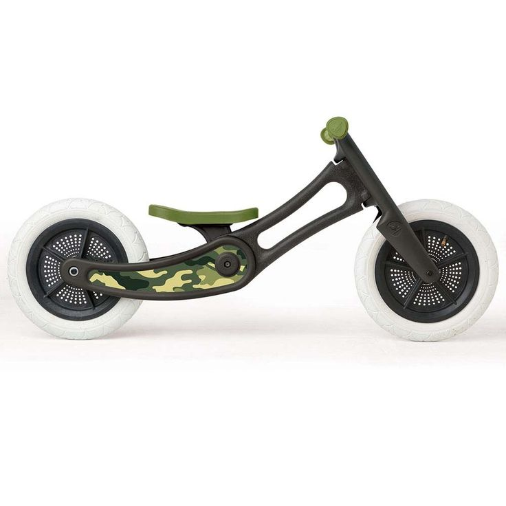 For Example: Wishbone Bike Recycled Edition Camo 2 in 1 with Grips and Seat Cover