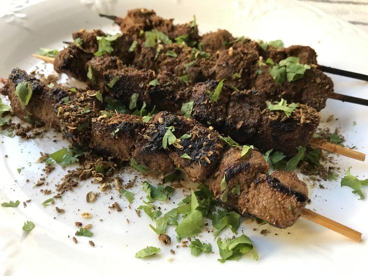 NO DRAMA Stovetop Xinjiang Cumin Lamb Kebabs - Juicy, Spicy and Numbing... the perfect beer bites!