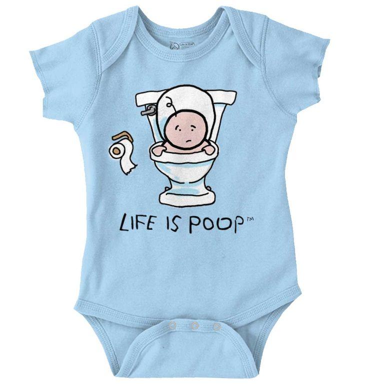 Baby Toilet Baby Romper