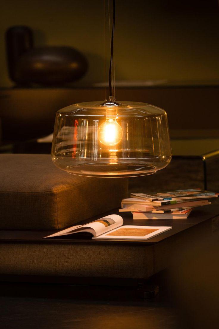 Hanglamp Surbo - 45 cm - Glas - Eth