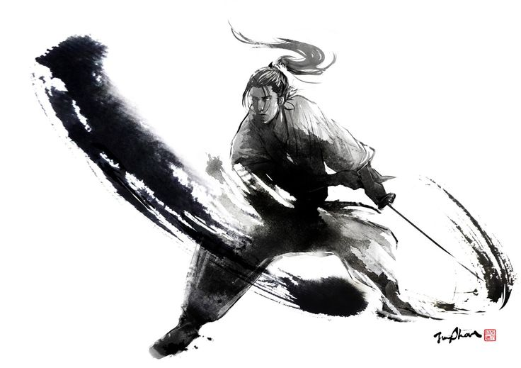 Ink Samurai by Jung Shan
