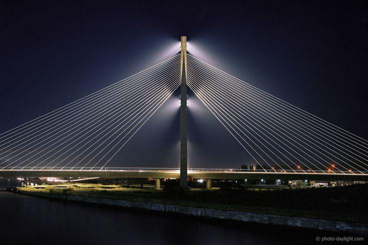 Pont de Wandre, Liège, Belgique, par le Bureau Greisch