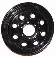 "15"" x 8"" Black Steel Wheels"
