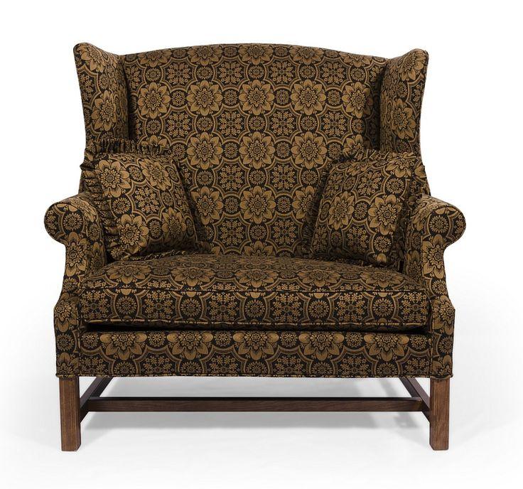 colonial wingback sofas refil sofa. Black Bedroom Furniture Sets. Home Design Ideas
