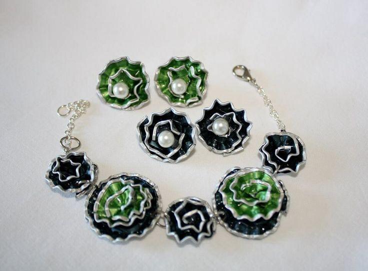 Nespresso Art - Bracelet and Earrings