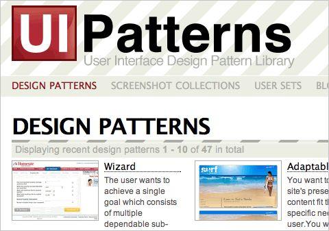 40+ Helpful Resources On User Interface Design Patterns | Smashing Magazine