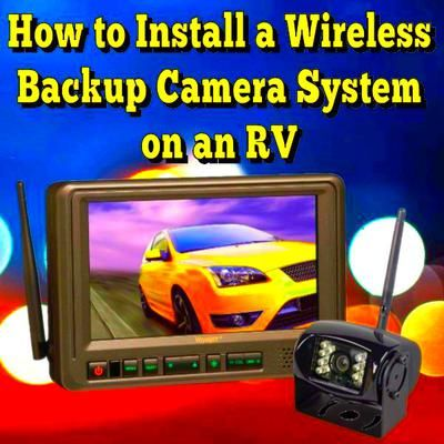 How to Install a Wireless Backup Camera on an RV: I have 1998 Holiday Rambler RV Need to install a wireless backup camera?  ANSWER: Hi, before we get to the actual installation procedure, let's talk about