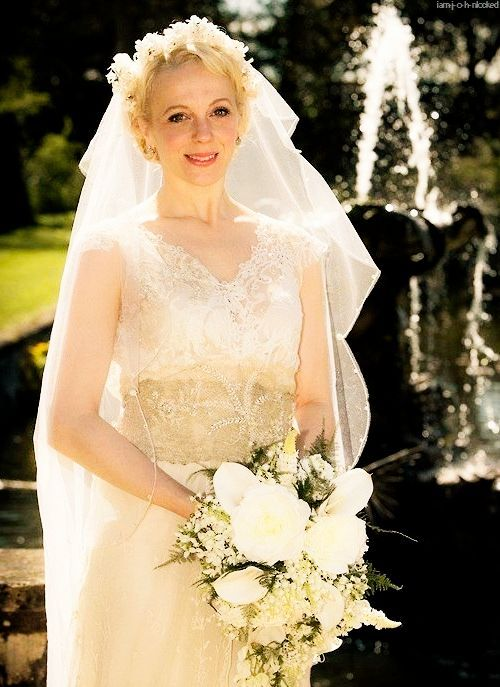 Amanda Abbington Sherlock Wedding Mary Watson-Mor...