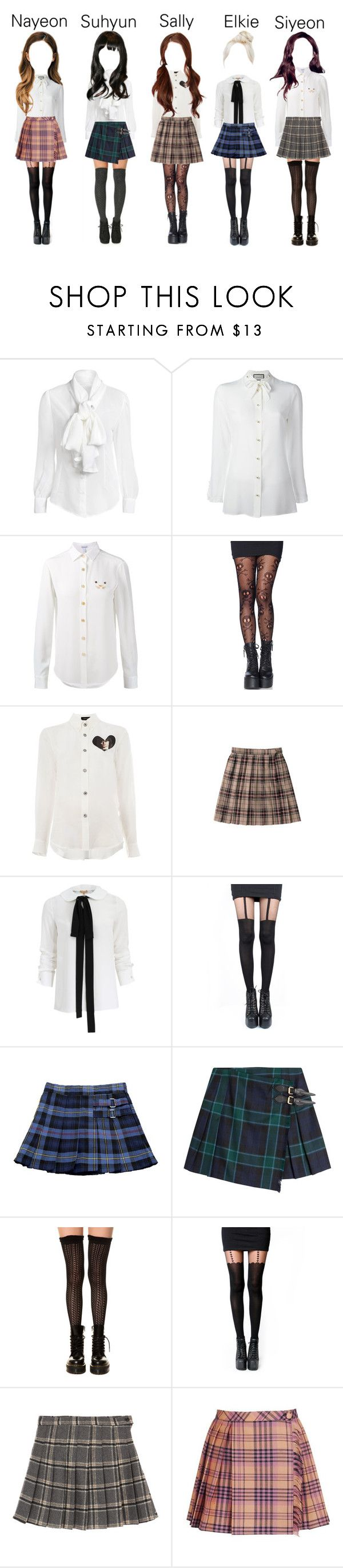 """""""Delicate - Looking for a Company"""" by delicate-official ❤ liked on Polyvore featuring Gucci, Loewe, Leg Avenue, Undercover, Michael Kors, Pretty Polly, French Toast, Burberry, K. Bell and Pamela Mann"""