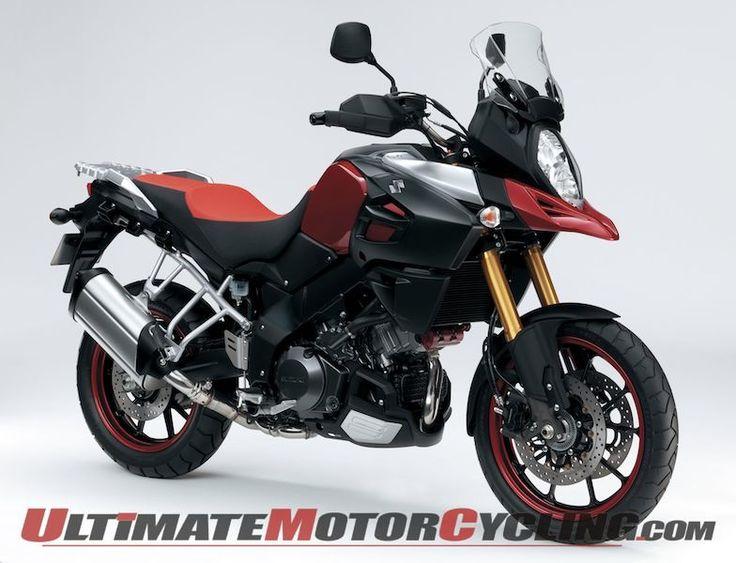 Suzuki Teases 2014 V-Strom 1000 Motorcycle