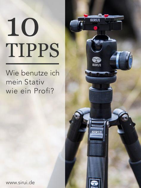 10 Tipps zur richtigen Stativnutzung