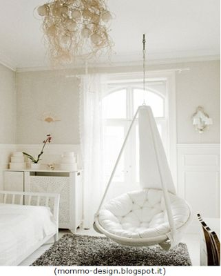 Evelyne Home Interiors - Interior and Exterior Decoration: Cadeiras suspensas / Chairs suspended!