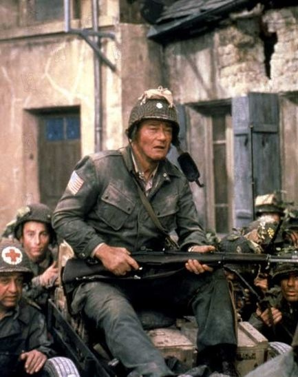 The Longest Day; A good movie, even with John Wayne in it.