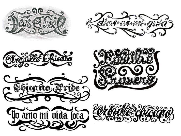 42 best Tattoo Lettering images on Pinterest | Letter tattoos ...