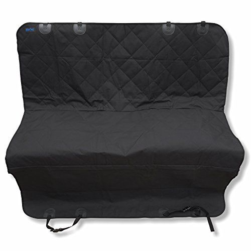 Dog Seat Cover: BlizeTec Hammock Style Pet Back Seat Protector; Nonslip & Waterproof; Universal Fit for Car SUV and Mini Van