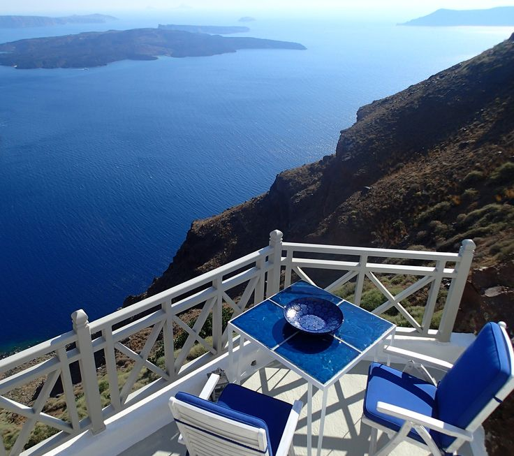 Iconic Santorini, Greece With French doors opening onto a private terrace and separate Juliet balcony, the Cliff Suite is bright and airy, with a rather special indoor grotto pool; sink into the rocking chair outside to take in splendid sea views.