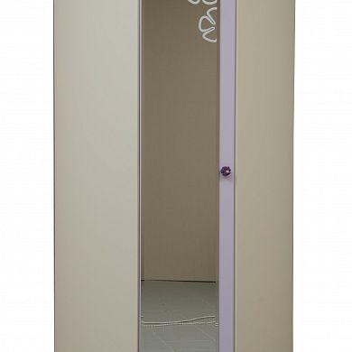 Шкаф для детского платья и белья угловой Юниор-5 купить в Екатеринбурге | Мебелька