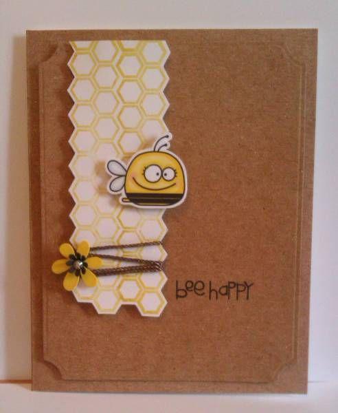 paper smooches bee happy: