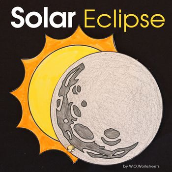 Solar Eclipse 2017 Crafts and Printables