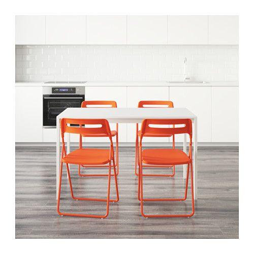 MELLTORP / NISSE テーブル&チェア4脚  - IKEA