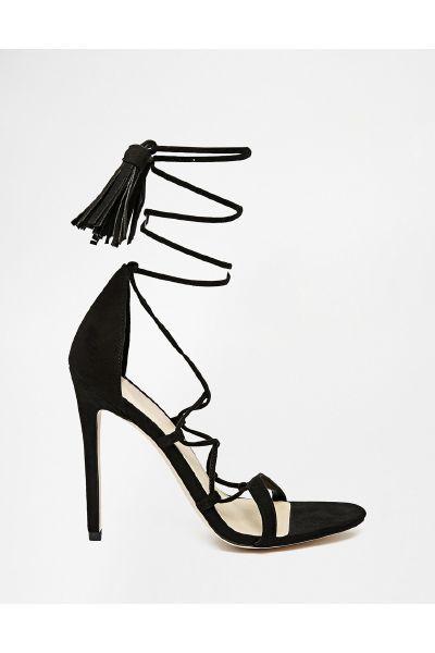Asos HINDSIGHT Heeled Sandals - The Fashion