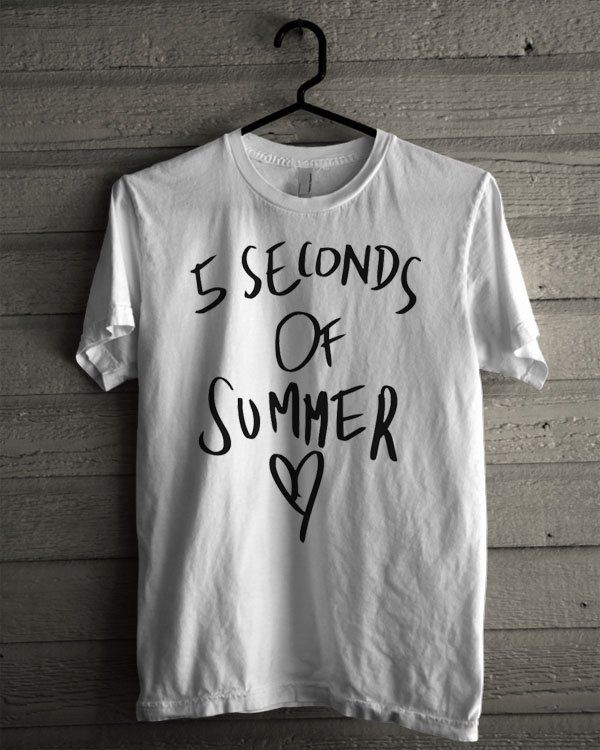 5 Seconds Of Summer Love Shirt | T-shirt Tees Tshirt Tanktop