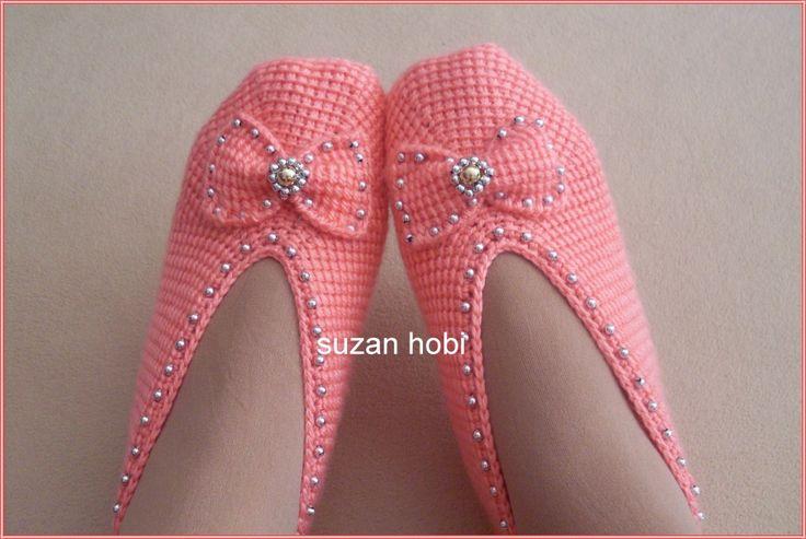 Tunus ݝşi Boncuklu Babet Örelimmi Kızlar :)) - Patik-Çorap Etkinlikleri