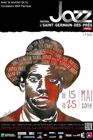 - Festival Jazz à Saint-Germain-des-Prés Paris 2014 @ Divers Lieux à Paris (voir présentation) - Paris, 75000